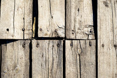 Background of old boards Stock Images