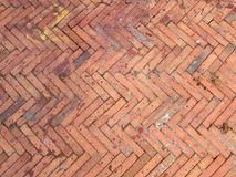 Background of old brick wall. Abstract Royalty Free Stock Image