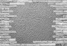 Background with old brick wall. Abstract background with old brick wall royalty free stock photography