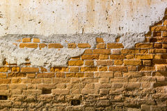 Background of old brick wall Royalty Free Stock Image
