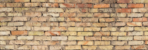 Background of a old brick wall Stock Photos