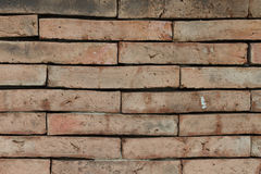 Background of old brick wall texture Royalty Free Stock Photography