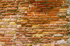 Background of old brick wall Royalty Free Stock Photography