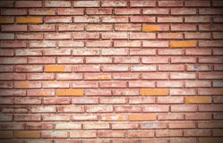 Background of old brick wall texture Royalty Free Stock Images