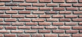 Background of old brick wall texture. Background of old vintage brick wall Stock Images
