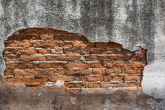 Background of old brick wall. Background of old vintage brick wall stock photos