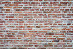 Background old brick wall. Vintage grunge texture Stock Photos