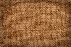 Background of the old burlap Royalty Free Stock Photos