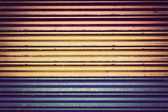 Background of old color metal  in vintage style. Background of old color metal door in vintage style Stock Images