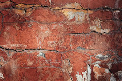 Background of old colorful peeling paint wall Stock Photo