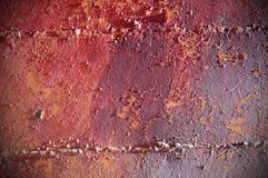 background of old cracked paint in brown tones
