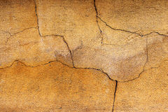Background old cracked walls of the building Royalty Free Stock Image