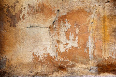 Background old cracked walls of the building Royalty Free Stock Photography