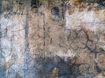 Background old cracked walls of the building Stock Images