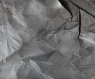 Background of old crumpled paper Stock Photography