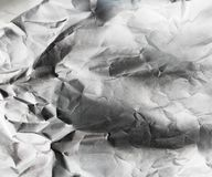 Background of old crumpled paper Royalty Free Stock Photos