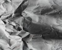 Background of old crumpled paper Royalty Free Stock Photography