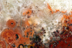 Background of a old crystal stone at extreme closeup. Royalty Free Stock Photos