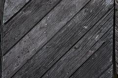 Dark weathered wood Stock Image