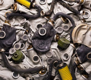 Gas masks Royalty Free Stock Photos