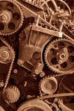 Background of old engine Royalty Free Stock Photography