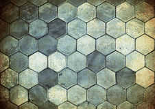 Background of old grunge tiles Royalty Free Stock Images