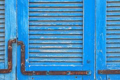 background of old grunge wooden texture with shutters. part of antique old door. For photography product backdrop. stock image