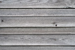 Background of the old horizontal boards. Background of the old horizontal gray boards Stock Photography