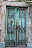 Old iron door royalty free stock photo