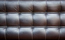 Background of a old leather armchair. Stock Image
