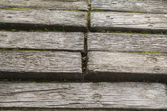 Background old lumber. Floor design Royalty Free Stock Images