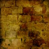 The background of the old masonry. With traces of the former might Stock Photos