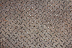 Background of metal manhole cover Stock Photo