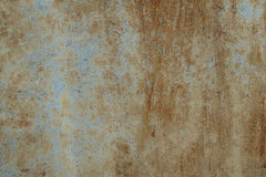 Background. Old metal. Rust. Paint. Royalty Free Stock Image