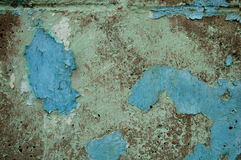 Background - Old Paint. Old paint peeling from block, background Stock Image