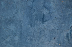 Background old paint wall blue Stock Image