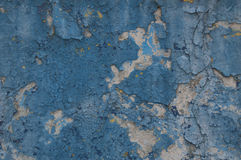 Background old paint wall blue Stock Photos