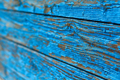 The background of the old painted blue boards, horizontal stock photos