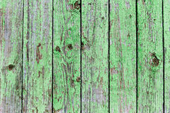Background of old painted boards Stock Images