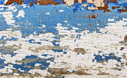 Background of old painted boards Royalty Free Stock Image
