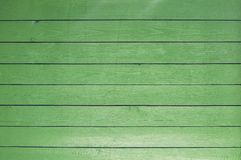 Background of old painted green boards stock images