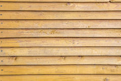Background of old painted wooden boards Stock Photos
