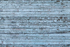 Background old painted wooden planks Stock Photography
