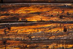 Wood texture. background old panels. Background old panels. wood texture.orange-brown boards Stock Photos