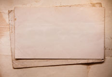 Background with old papers and letters Royalty Free Stock Photo