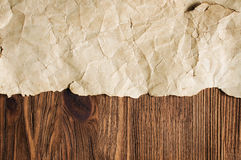 Background with old parchment Royalty Free Stock Photos