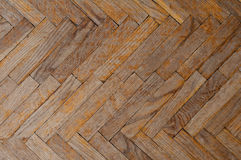 Background of old parquet Royalty Free Stock Photo