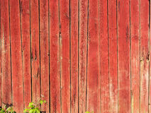 Background. An old red barn wall Stock Images