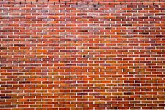 Background of old red brick wall, vintage effect Stock Images