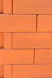 Background of old red bricks. Royalty Free Stock Images